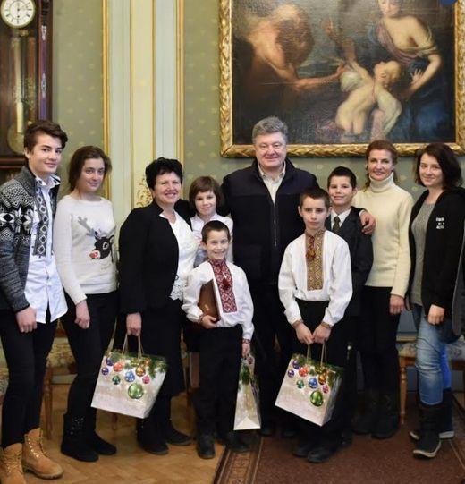 Порошенко и семья Бузивок