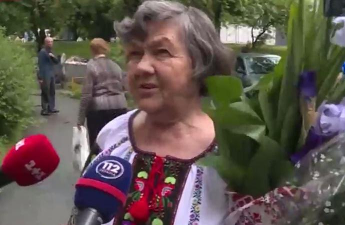 Марія Савченко після повернення Надії