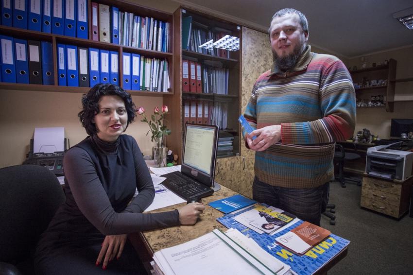 Светлана Сова и Юлий Морозов