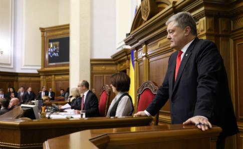 Военное положение неограничит права украинцев,— Порошенко