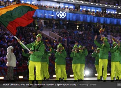 Форма Литвы также не понравилась экспертам USA Today