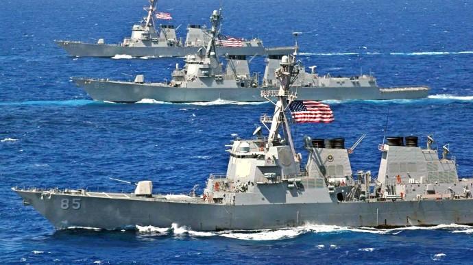Росія пригрозила США через кораблі у Чорному морі: Їм краще триматись  подалі від Криму | Українська правда