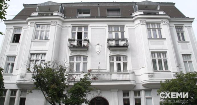 Будинок, в якому живе Татьков з екс-дружиною