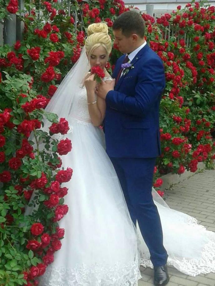 Ольга і Богдан Марцонь одружилися лише влітку цього року