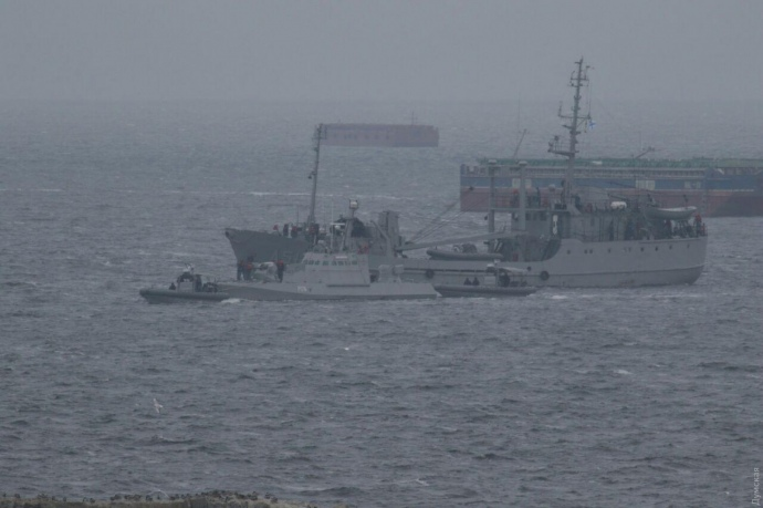 Освобожденные в Керчи катера, на которые пленили 3-х моряков из Херсонщины, начали прибывать в Очаков