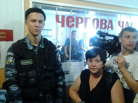 Райвідділок міліції у Врадіївці в очікування розвитку подій