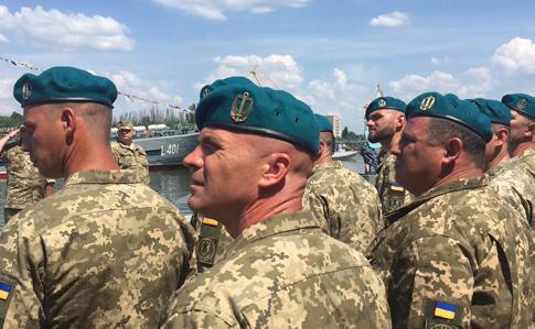 Морські піхотинці отримали нові берети та нове свято (фотофакт)