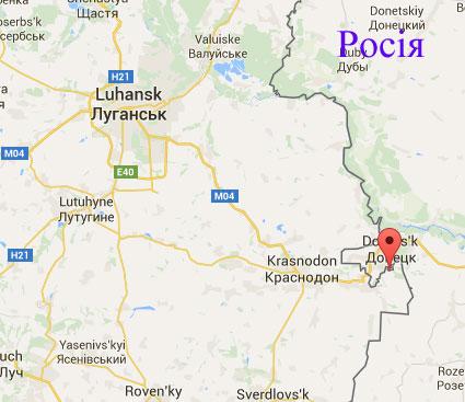 Краснодарское на границе с РФ