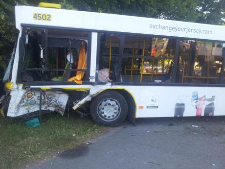 В результаті ДТП травмовано 9 осіб, одна людина загинула. фото - ДержНС у м.Києві