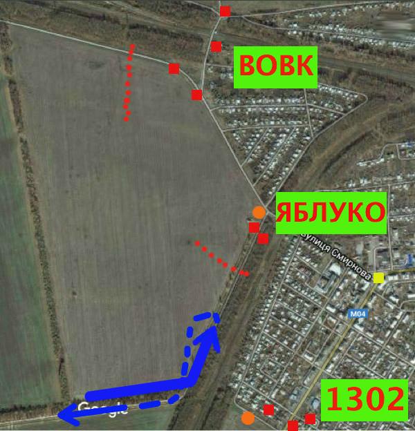 Перша атака ворога на БП 1301 (позиція