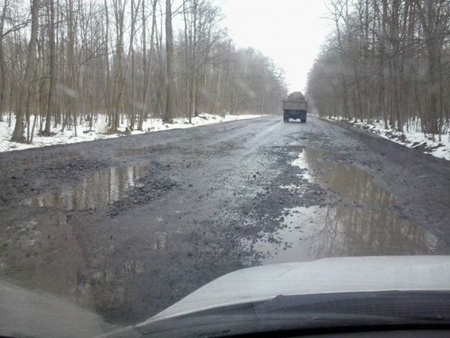 Дорога госудаственного значения Львов-Луцк