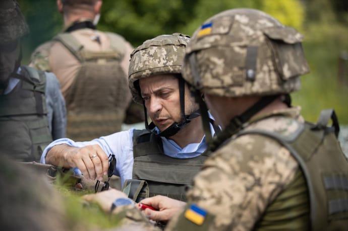 Ні закінчити війну, ні повернути захоплені росіянами Донбас і Крим Зеленському не вдалося ФОТО: ПРЕССЛУЖБА ОПУ