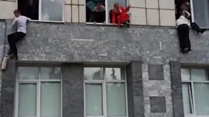 Стрілянина в 8-му корпусі Пермського державного університету
