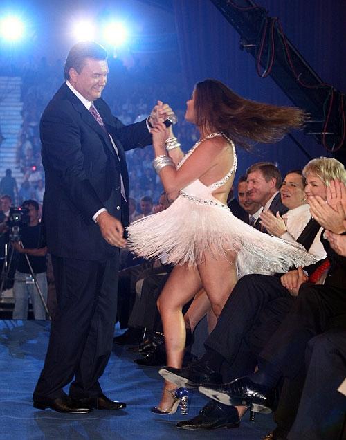 Могилевська більше не танцює для Януковича