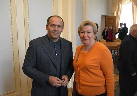 З Віктором Пінчуком у парламенті