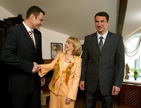 З катериною Ющенко. Фото з сайту президента